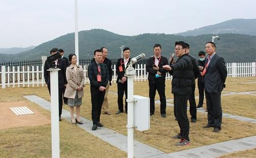 福清:市人大代表视察气象工作  听取市政府关于气象工作汇报