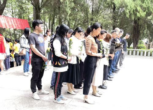永泰:缅怀革命先烈 倡导文明祭祀