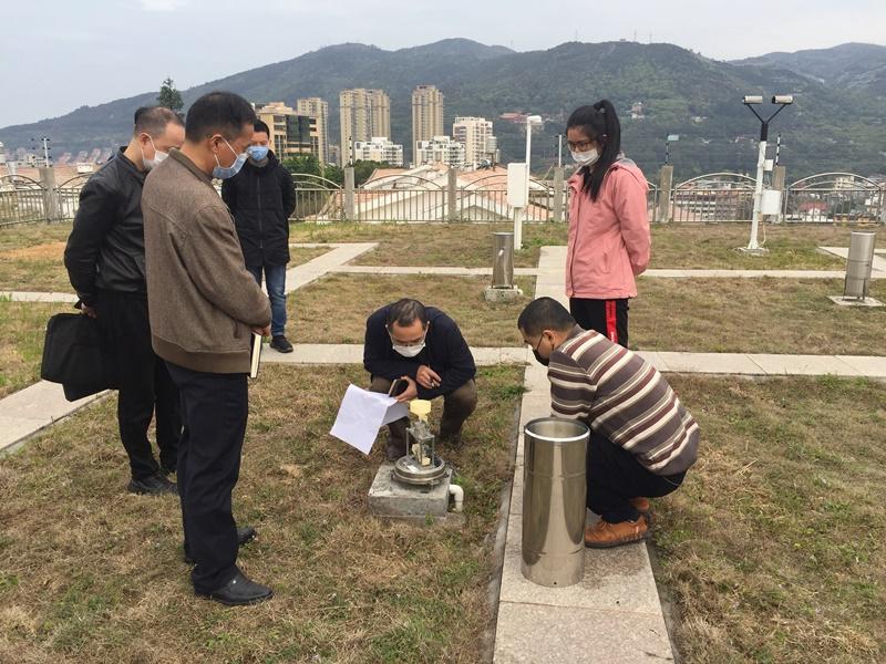 莆田:省局检查组检查指导汛前气象业务准备工作