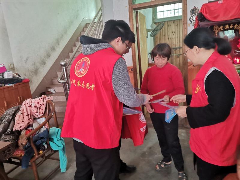 仙游:开展反诈骗志愿宣传活动