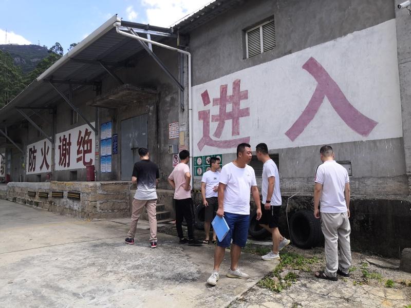 荔城:联合应急管理局开展易燃易爆场所安全执法检查