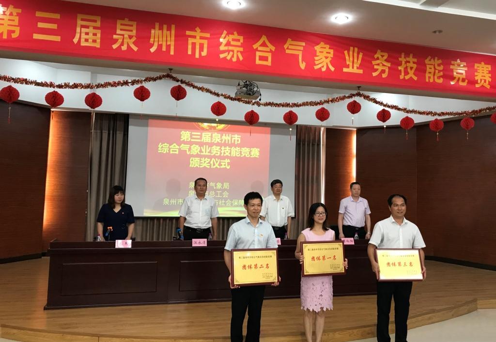 泉州:第三届综合气象业务技能竞赛圆满落幕