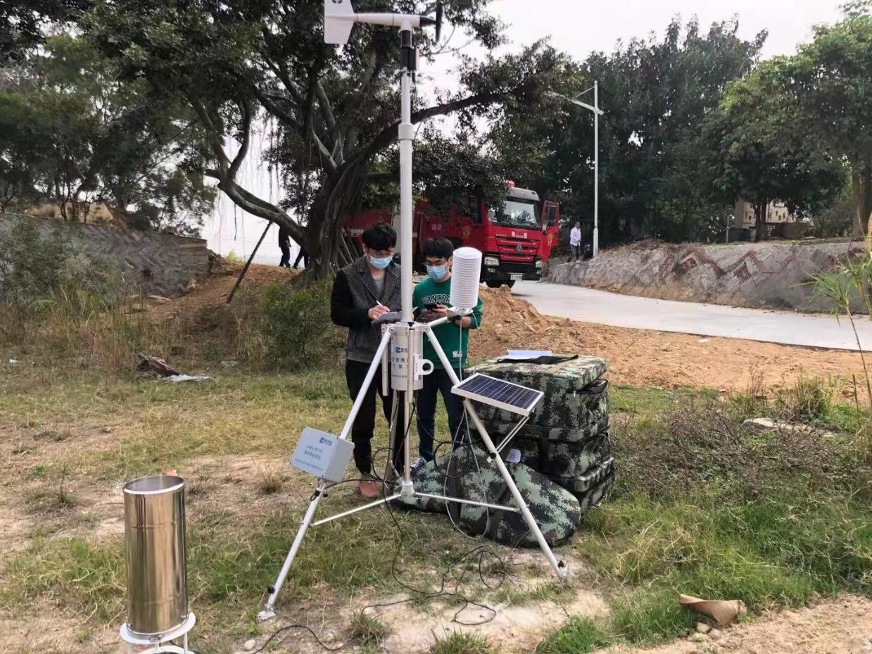 晋江:参与森林消防灭火演练,做好气象服务保障