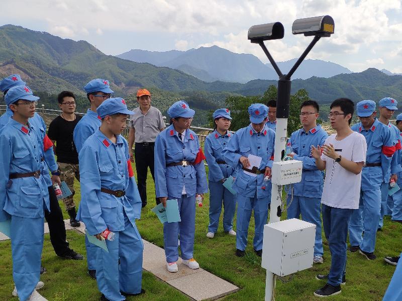 尤溪:研学旅行新课程——走进气象站