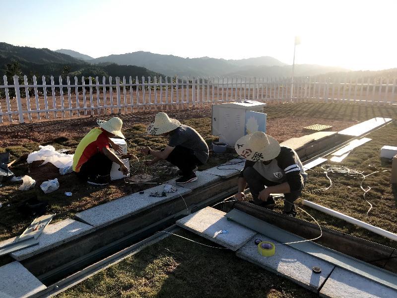 清流:完成双套新型自动气象站建设