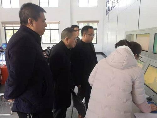 沙县:县委县政府领导到气象局慰问调研