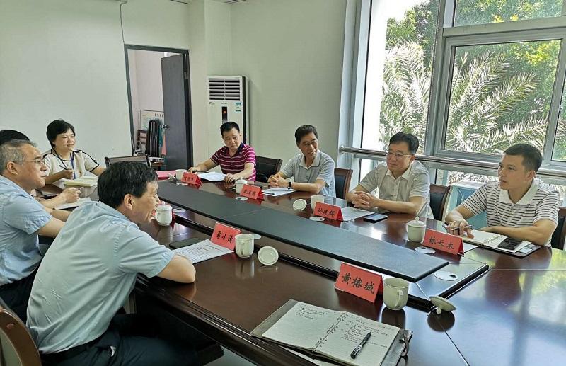 厦门:市应急、气象部门共商联动合作