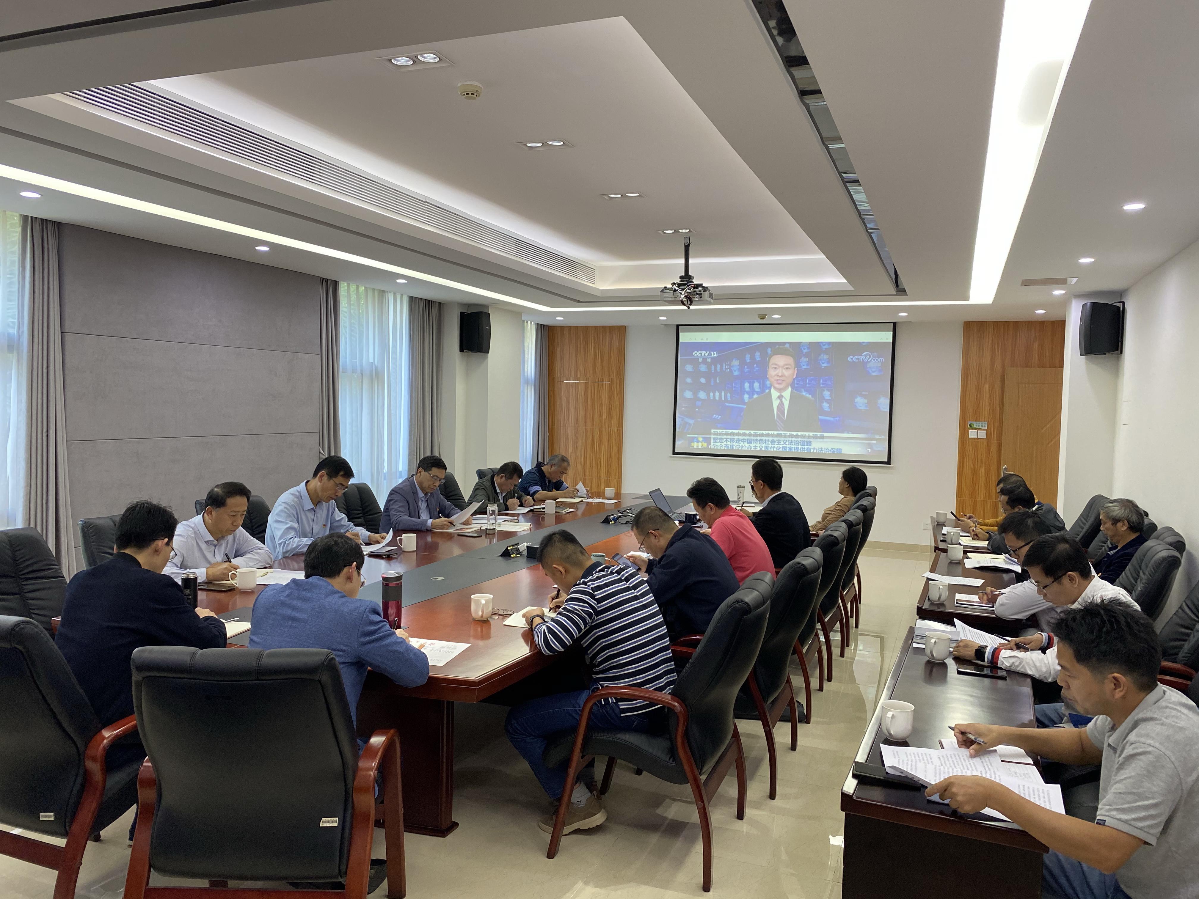 厦门:市局召开党组理论学习中心组扩大会议