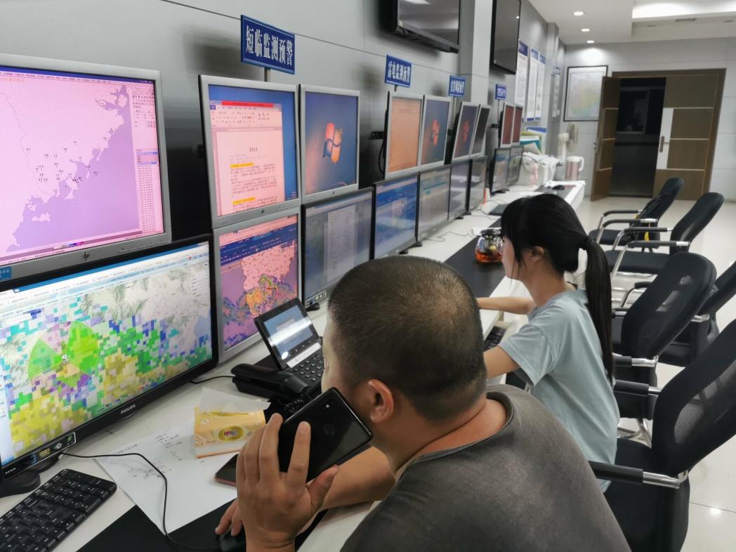 漳州:人工增雨解旱情