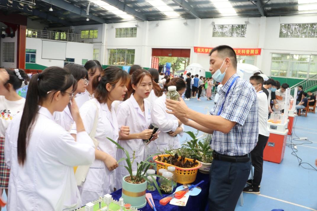 漳州市气象部门积极开展丰富多彩的科普日活动